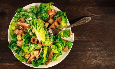 Best Healthy Fried Chicken-Salad with a Buttermilk Dressing