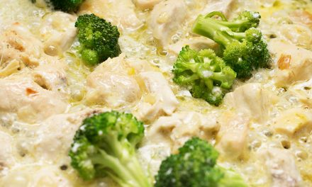 Creamy Alfredo Chicken and Broccoli Soup