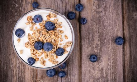 Healthy Blueberry & Apple Bircher Muesli