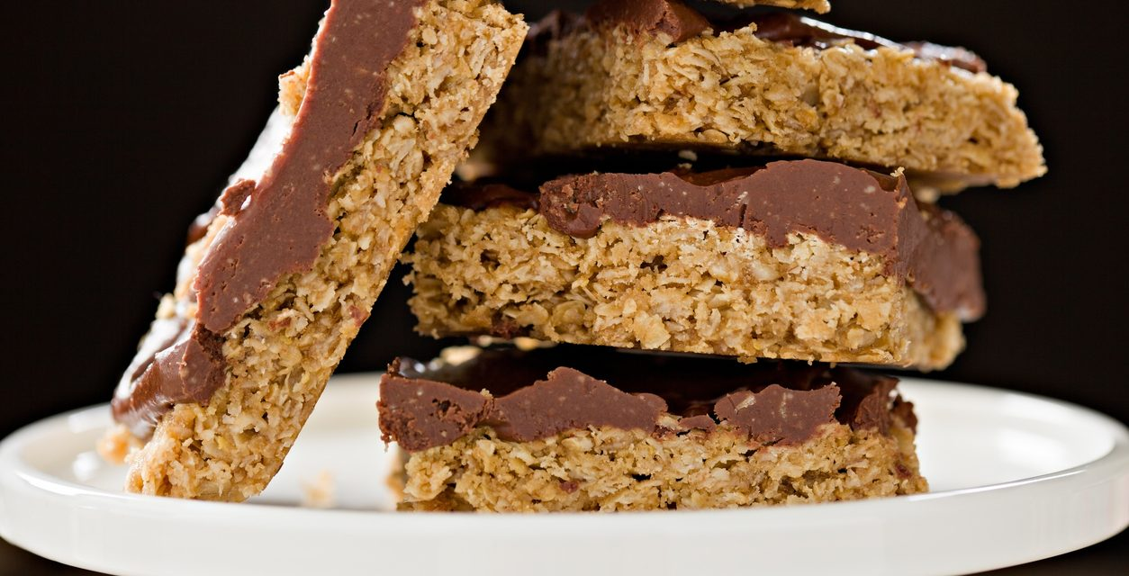 Peanut Butter Chocolate Energy Bars