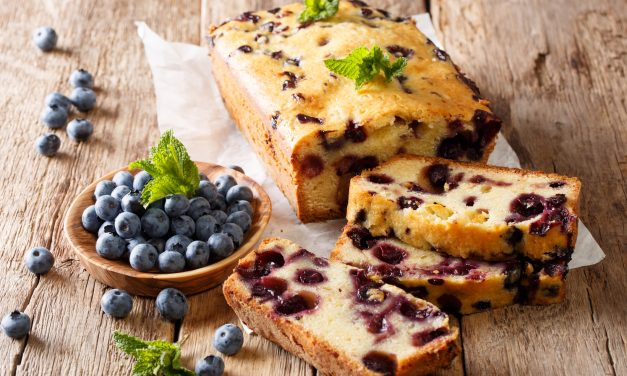 Blueberry-Lemon Zucchini Bread